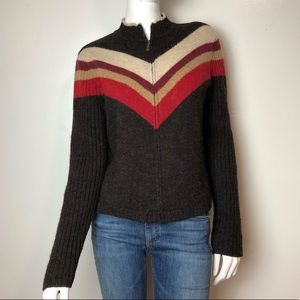 American Eagle Outfitters ZIP Front Wool Cardigan